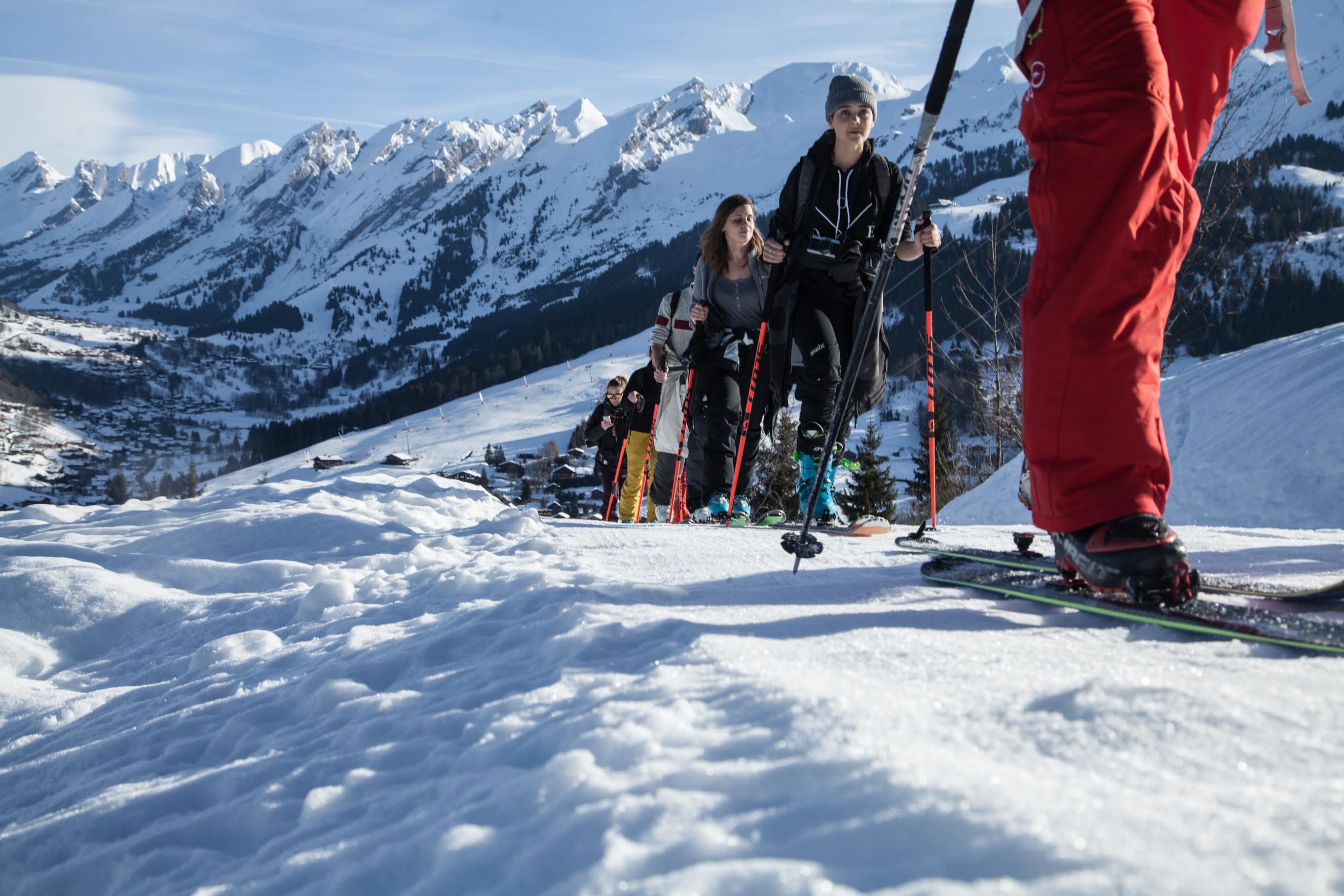 La clusaz ski de rando
