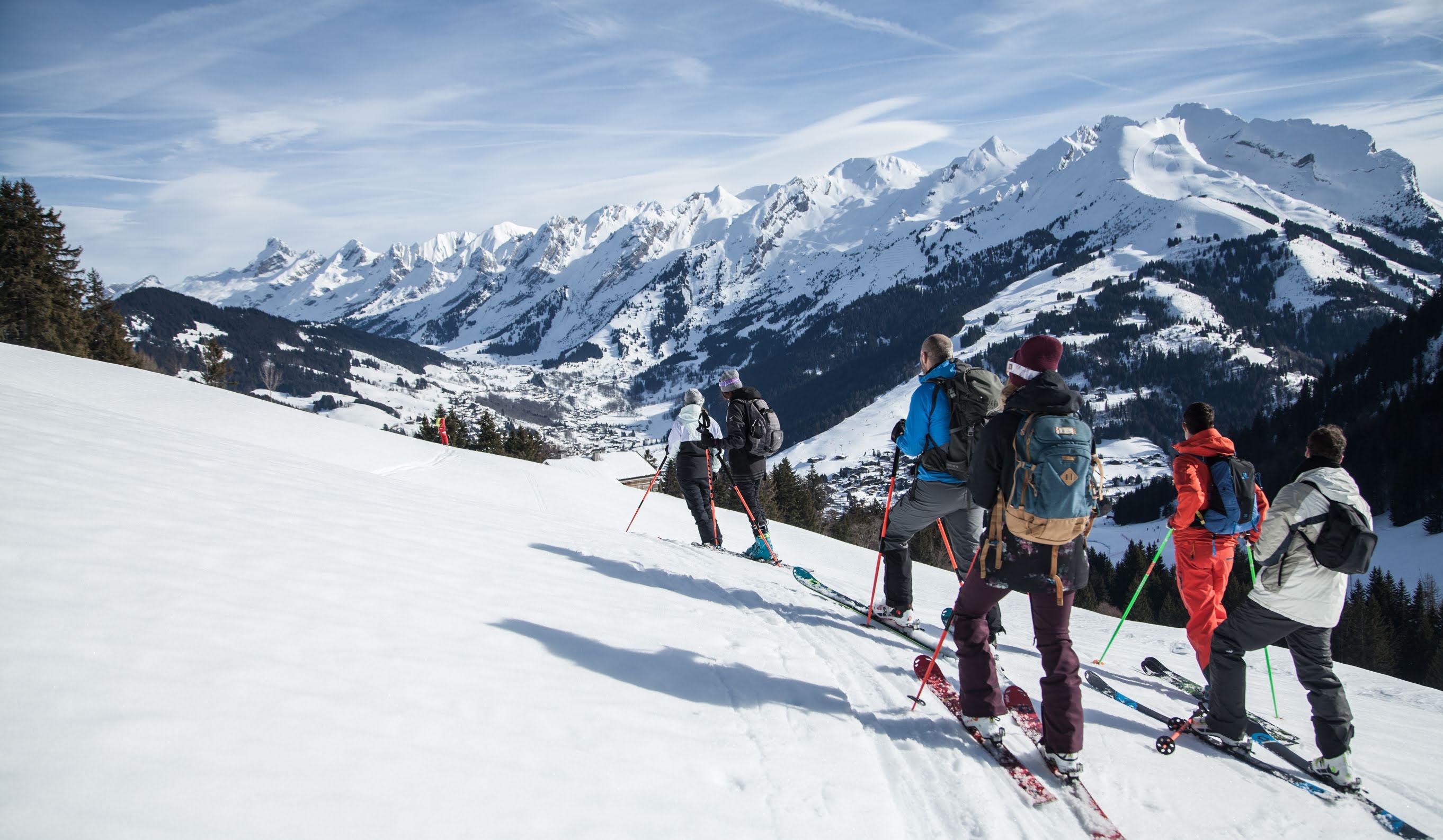 ski de rando la clusaz